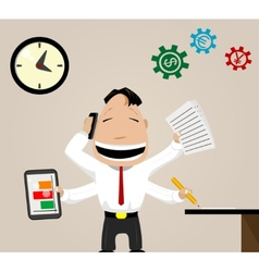 Business activity image vector