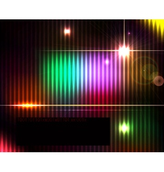 Dark abstract shiny technology spectrum background vector