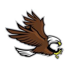 Eagle mascot style vector