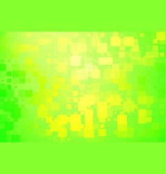 Green and yellow shades glowing various tiles vector