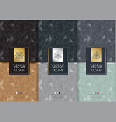 templates packaging vector image