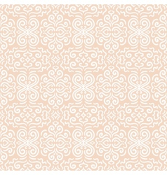 White fantasy seamless pattern background vector image
