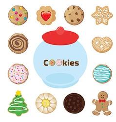 cookiejar vector image vector image
