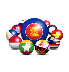 Asean association southeast asian nations vector