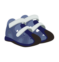 Basport shoes icon on a white background vector