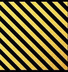 Gold glittering lines pattern on black vector