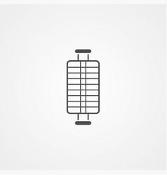 grill icon sign symbol vector image