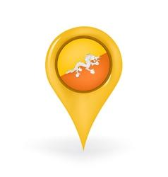 Location Bhutan vector