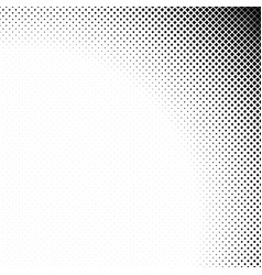 Monochrome geometrical abstract halftone diagonal vector