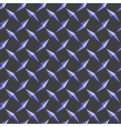 diamond pattern background vector image vector image
