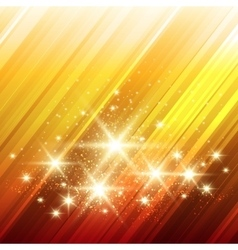 Glowing Stars Background vector image vector image