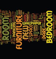 Bedroom treason text background word cloud concept vector
