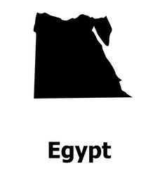 egypt map icon simple style vector image