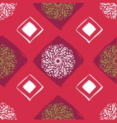 ethnic seamless pattern abstract oriental mandala vector image