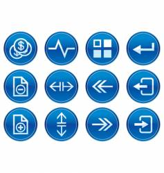 gadget icon set vector image