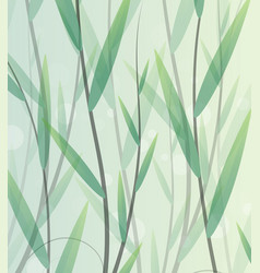 lush thickets vector image