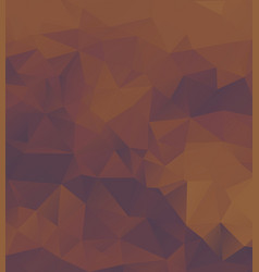 polygon background dark purple orange vector image
