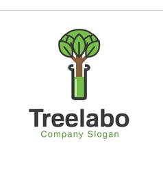 Tree Labo Design vector