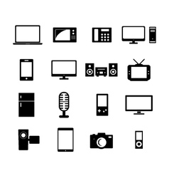 Electronic Icon vector image vector image