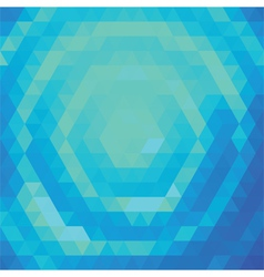 Green and blue vector image vector image