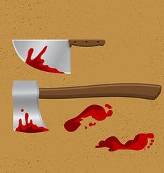 Bleeding Knife2 vector image