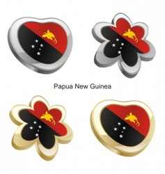 Papua New Guinea map vector image