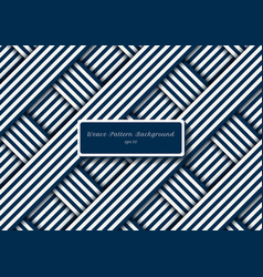 abstract blue and white diagonal stripes lines vector image
