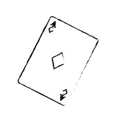 Casino card game concept vector