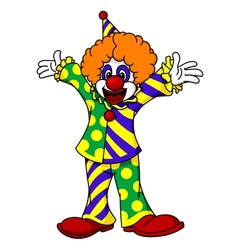 Circus clown vector