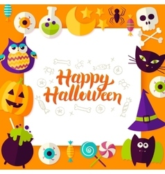 Happy Halloween Paper Concept vector