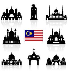 Malaysia Icon vector image