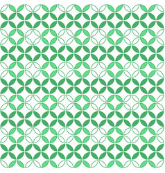 round geometric pattern vector image
