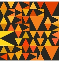 Seamless Abstract Geometric Triangle vector image vector image