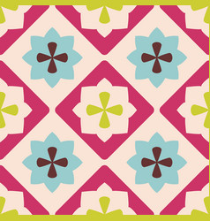 tile decorative floor tiles for pattern vector image