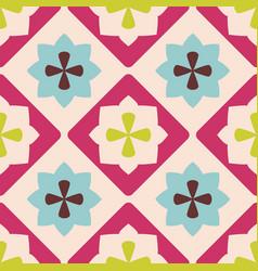tile decorative floor tiles for pattern vector image