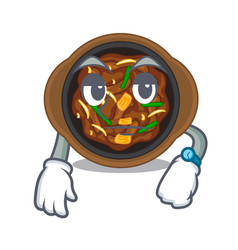 Waiting bulgogi isolated with in character vector
