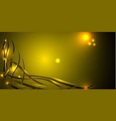 black gold for a background with smooth lines and vector image