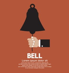 Hand Ring A Bell vector image