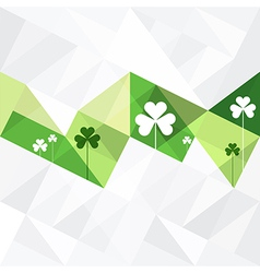 Patrick day background abstract vector