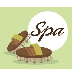 spa center massage relaxing vector image