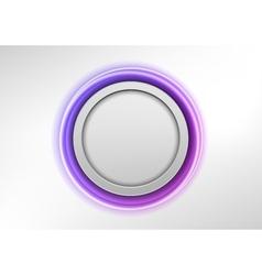 circle purple vector image