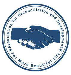 Association for reconciliation and development vector