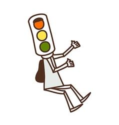 A traffic Light vector