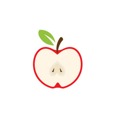 apple design icon logo template vector image