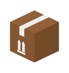 Box package top vector
