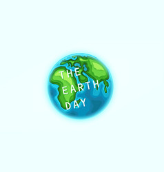 earth clipart isolated on white collection vector image
