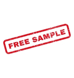 Free Sample Text Rubber Stamp vector