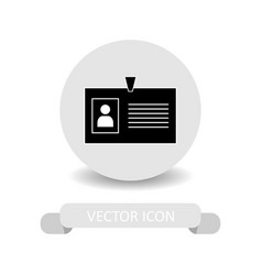 office id icon vector image