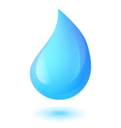 water drop vector image