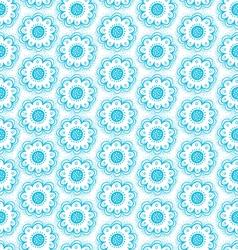 Dala flowers pattern vector image vector image
